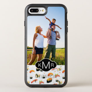 Japanese Food | Sushi Pattern | Add Your Photo OtterBox Symmetry iPhone 8 Plus/7 Plus Case