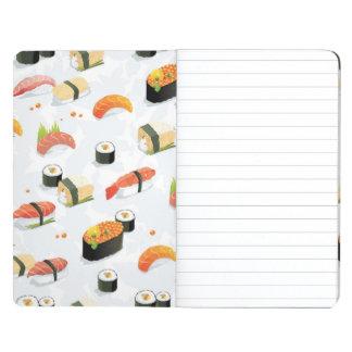 Japanese Food: Sushi Pattern Journal