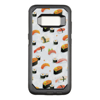 Japanese Food: Sushi Pattern OtterBox Commuter Samsung Galaxy S8 Case