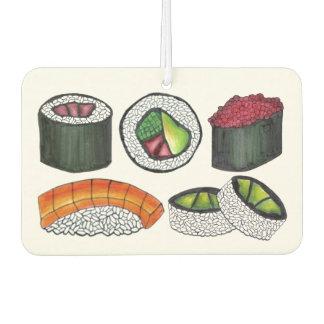 Japanese Food Sushi Roll Tuna Rolls Foodie Gift Car Air Freshener