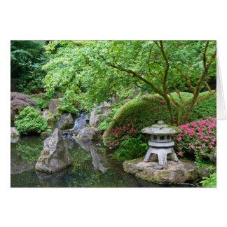 Japanese Garden 1 Card
