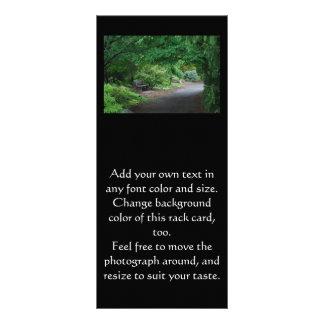 Japanese Garden Bench Rack card