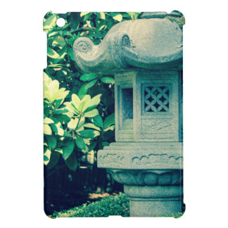 japanese garden crossprocessstatue cover for the iPad mini