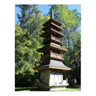 Japanese Garden in Fort Worth Texas # 12 Postcard