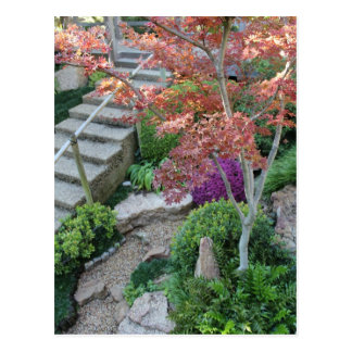 Japanese Garden in Fort Worth Texas # 21 Postcard