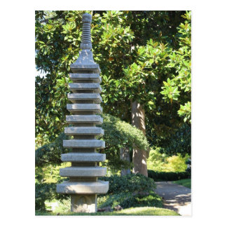 Japanese Garden in Fort Worth Texas # 8 Postcard