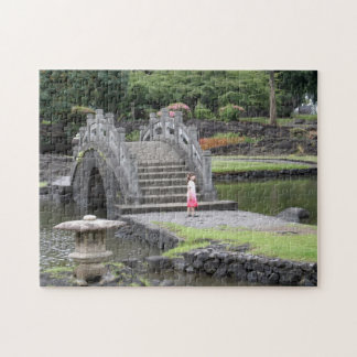 Japanese Garden in Hilo, Hawaii Jigsaw Puzzle