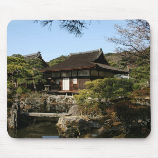 Japanese Garden in Kyoto - Beauty and Relaxation Mouse Pad