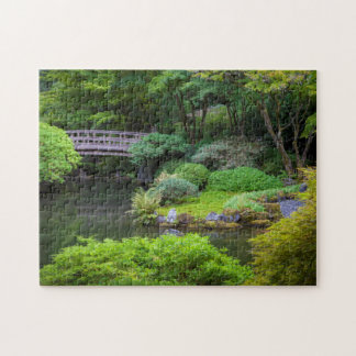 Japanese Garden, Portland, Oregon, USA 2 Jigsaw Puzzle