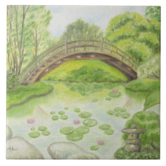 Japanese Garden wall tile