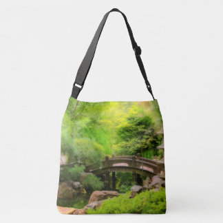 Japanese Garden - Water under the bridge Crossbody Bag