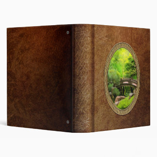 Japanese Garden - Water under the bridge Vinyl Binder