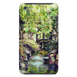 Japanese Garden With Bridge and Stream Barely There iPod Cases