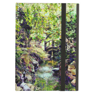 Japanese Garden With Bridge and Stream Case For iPad Air