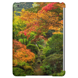 Japanese Gardens In Autumn In Portland, Oregon 2 iPad Air Cases