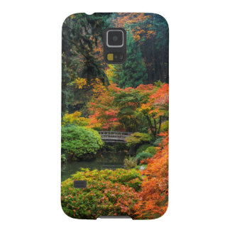 Japanese Gardens In Autumn In Portland, Oregon 5 Cases For Galaxy S5