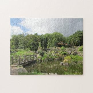 Japanese Gardens Preston. Jigsaw Puzzle