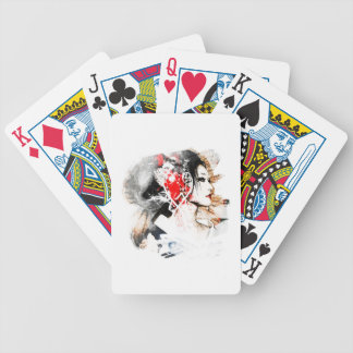 Japanese Geisha Bicycle Playing Cards