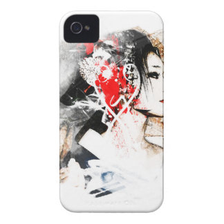 Japanese Geisha iPhone 4 Case-Mate Cases
