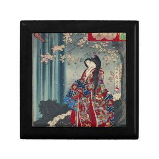 Japanese Geisha Lady Japan Art Cool Classic Gift Box