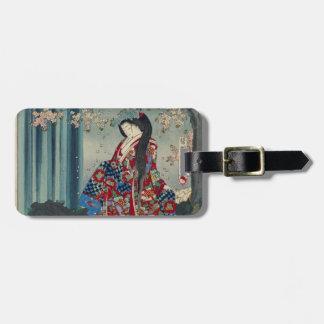 Japanese Geisha Lady Japan Art Cool Classic Luggage Tag