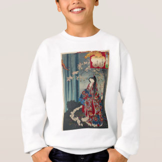 Japanese Geisha Lady Japan Art Cool Classic Sweatshirt
