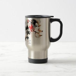 Japanese Geisha Travel Mug