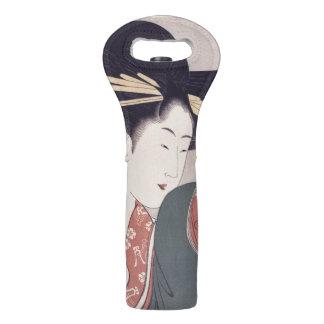 Japanese Geisha Wine Bag