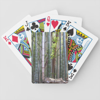 Japanese Giant Bamboo Forest, Sagano, Kyoto, Japan Poker Deck