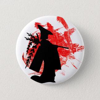 Japanese Girl 2 Inch Round Button