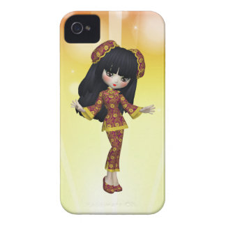 Japanese Girl Blackberry Case