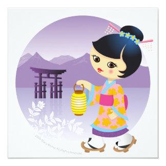 Japanese girl card