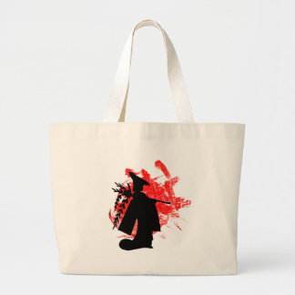 Japanese Girl Large Tote Bag