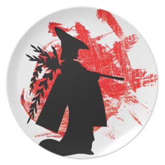 Japanese Girl Plate