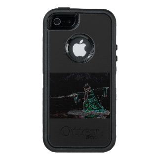 Japanese girl with sword OtterBox defender iPhone case