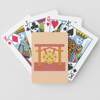Japanese Gong Crest Playing Cards