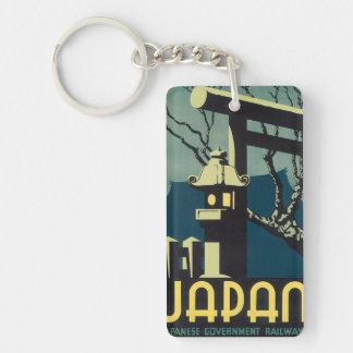 Japanese Government Railways Keychain
