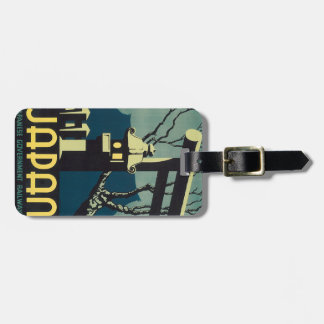 Japanese Government Railways Luggage Tag