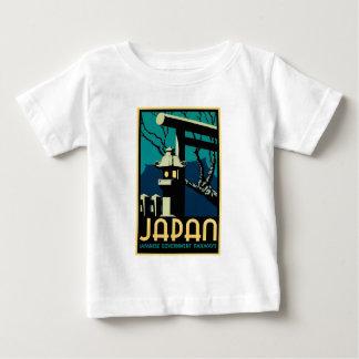 Japanese Government Railways Vintage World Travel Baby T-Shirt