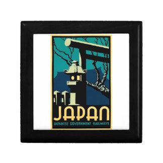 Japanese Government Railways Vintage World Travel Gift Box