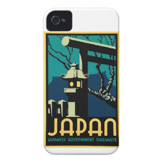Japanese Government Railways Vintage World Travel iPhone 4 Case-Mate Case