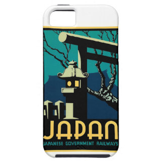 Japanese Government Railways Vintage World Travel iPhone 5 Covers