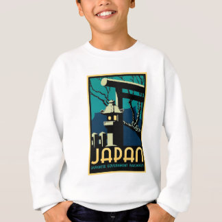 Japanese Government Railways Vintage World Travel Sweatshirt