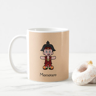 Japanese Hero Peach Boy Momotaro Coffee Mug