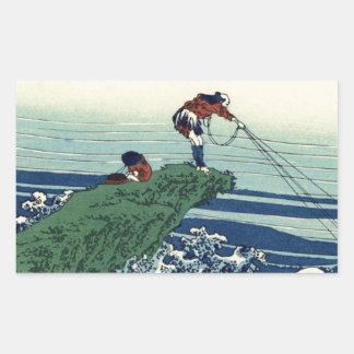Japanese Hokusai Fuji View Landscape