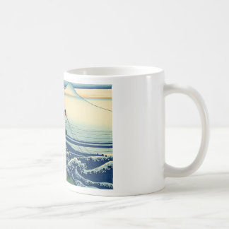Japanese Hokusai Fuji View Landscape Coffee Mug