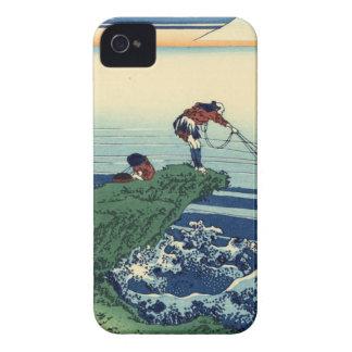 Japanese Hokusai Fuji View Landscape iPhone 4 Case-Mate Case