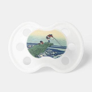 Japanese Hokusai Fuji View Landscape Pacifier
