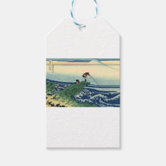 Japanese Hokusai Fuji View Landscape Pack Of Gift Tags