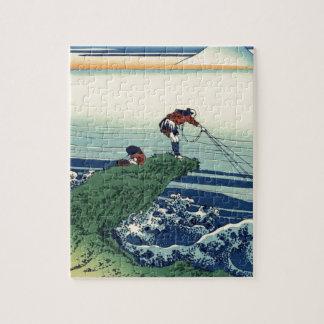 Japanese Hokusai Fuji View Landscape Puzzles
